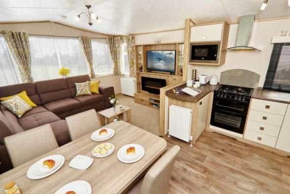 Oakdale Caravan for sale at Wilksworth Holiday Park