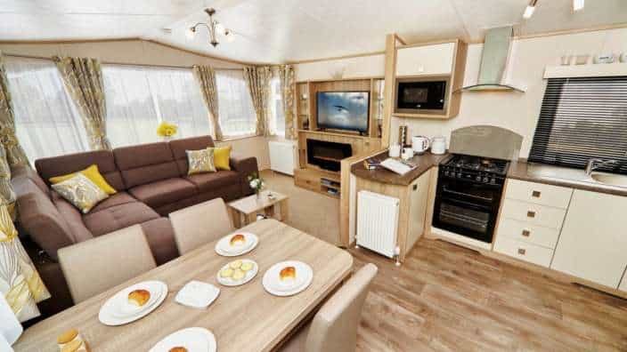 Oakdale Caravan for sale at Wilksworth Holiday Park