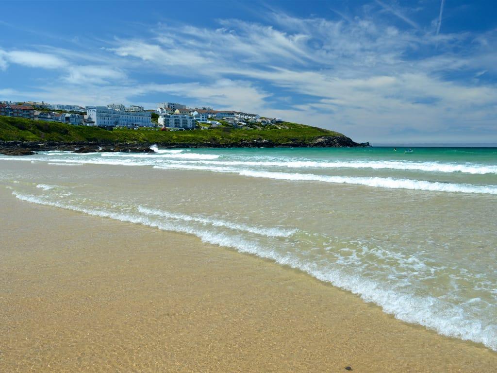 Fistral Bay Cornwall