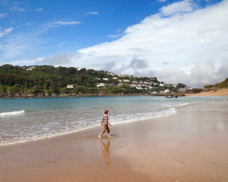 Beach in Devon