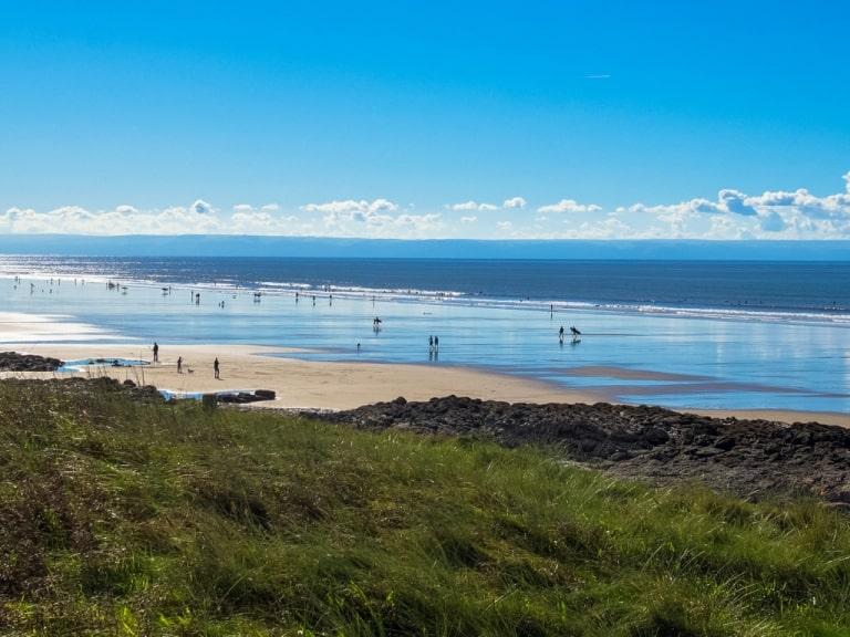 Porthcawl Beach in Wales